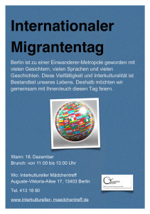 flyer migrantentag 2014